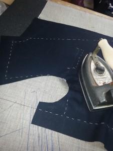como hacer una chaqueta - primeros pasos