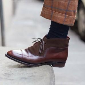 Traje perfecto para Pitti Uomo- calzado